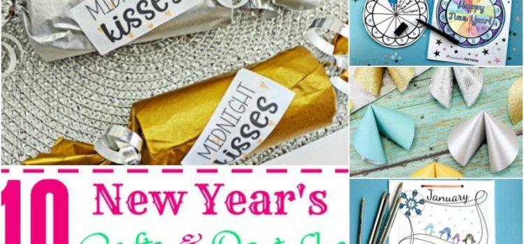 10 objets artisanaux et imprimables du Nouvel An pour vous aider à célébrer la fête