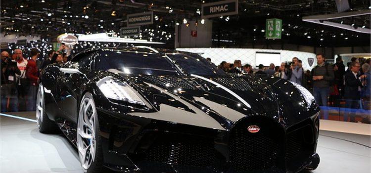 Bugatti dévoile la voiture neuve la plus chère du monde