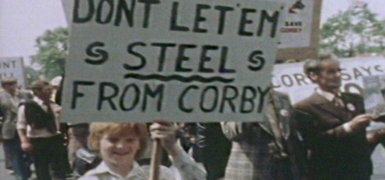 La fermeture de l'aciérie de Corby se souvient de 40 ans plus tard