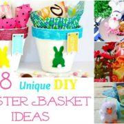 18 idées uniques de panier de Pâques de bricolage trop mignon pour ne pas essayer !