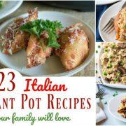 23 Recettes italiennes instantanées faciles que votre famille adorera