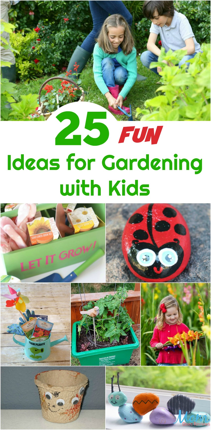 25 Fun Gardening with Kids Ideas to Spark Their Interest #gardening #diy #parenting #STEM #science #education