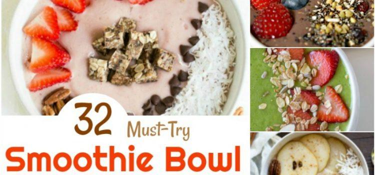 32 recettes de bols à smoothies à essayer absolument que vous adorerez