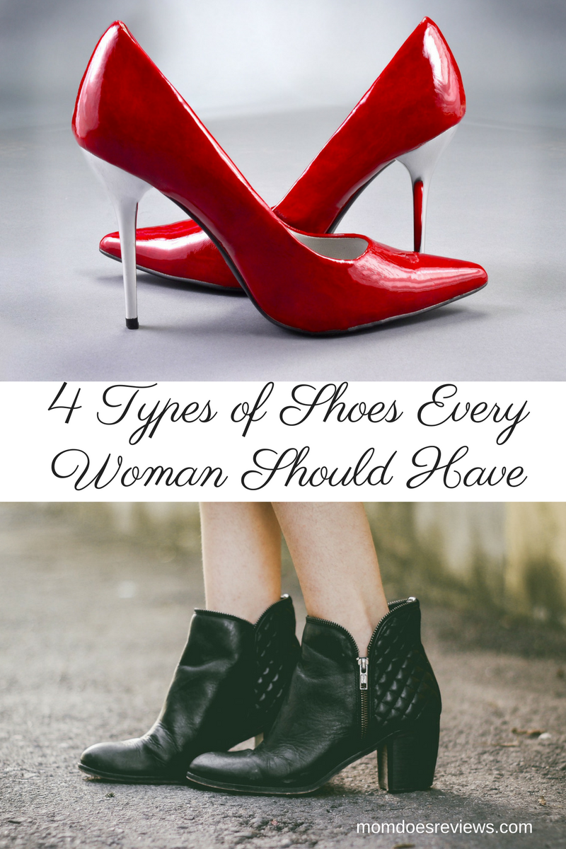 4 Types of Shoes Every Woman Should Have in Her Closet