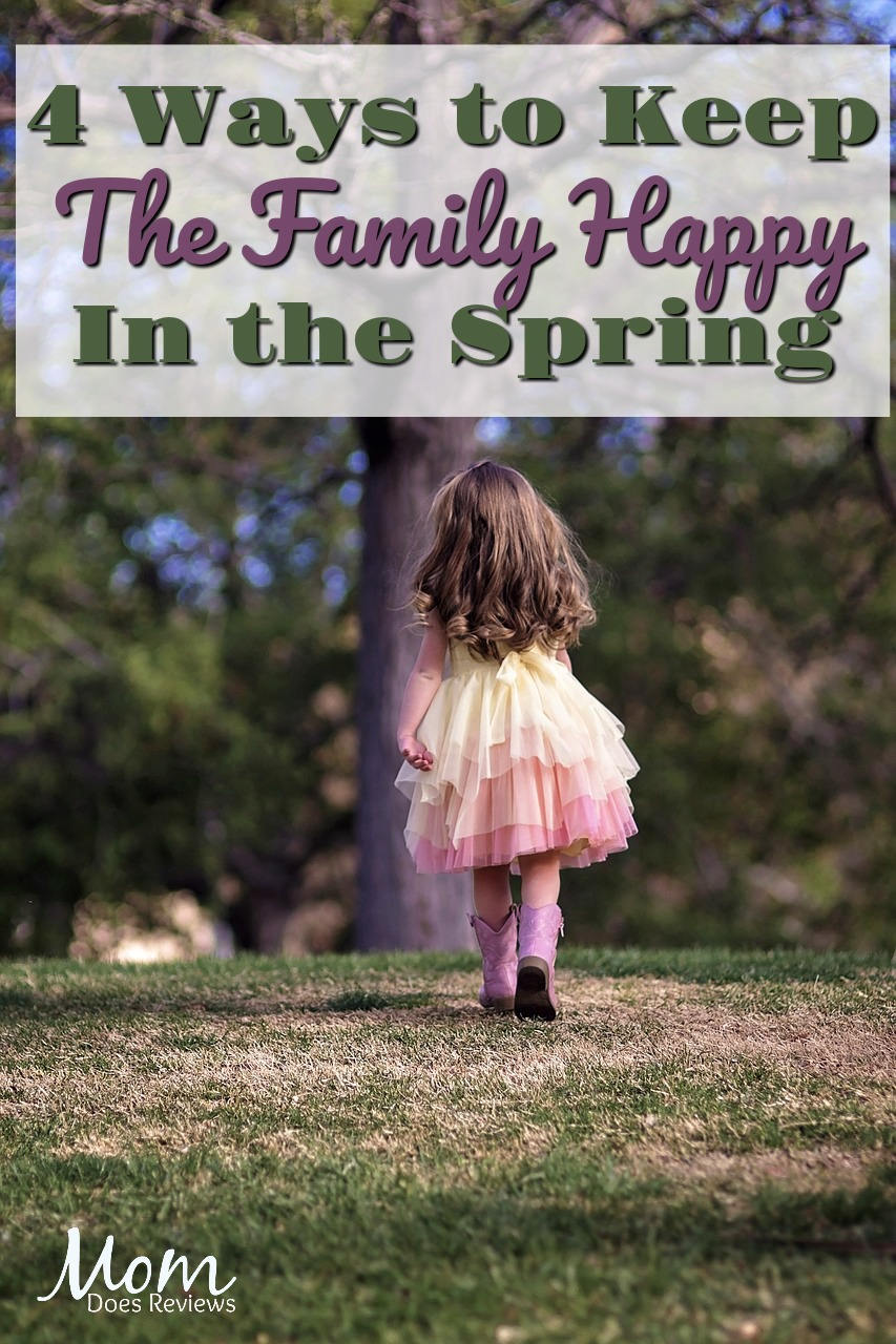 Comfy in the Spring: 4 Ways to Keep the Fam Happy during Changing Temps #home #springtime #family