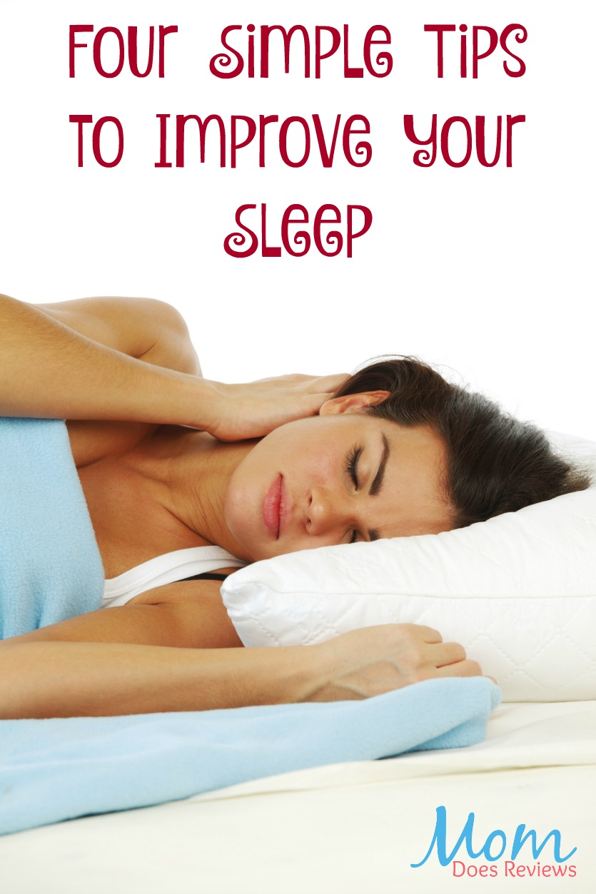 Four Simple Tips to Improve your Sleep