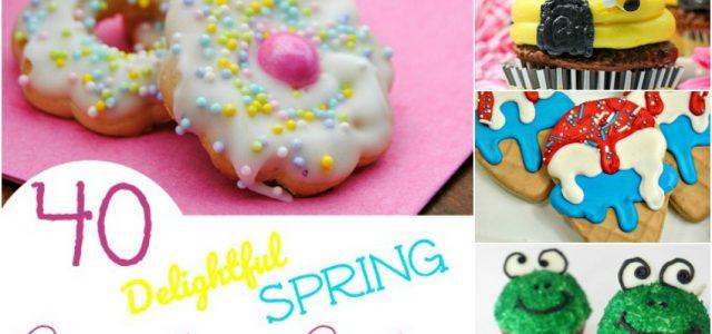 40 délicieux petits gâteaux de printemps et biscuits qui vous feront sourire