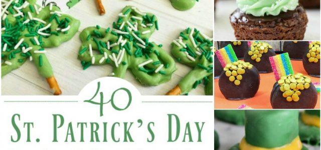 40 Cupcakes, biscuits et gâteries sucrées de la Saint-Patrick pour une célébration amusante