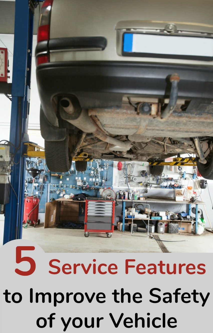 5 Service Features to Improve the Safety of your Vehicle