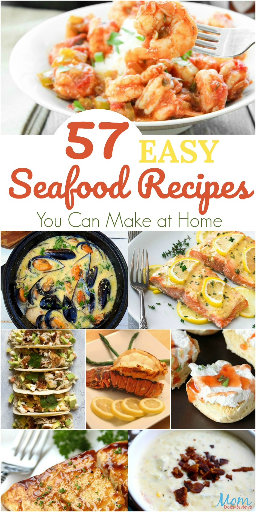 57 Easy Seafood Recipes You Can Make at Home #recipes #food #foodie #seafood #getinmybelly #healthyfood