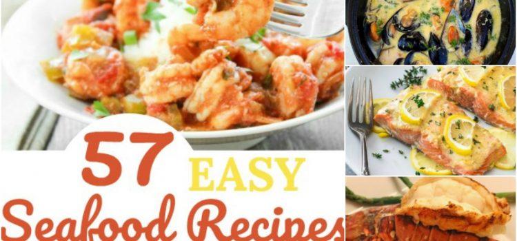57 Recettes faciles de fruits de mer que vous pouvez préparer à la maison