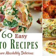 60 recettes de céto faciles qui sont absolument délicieuses