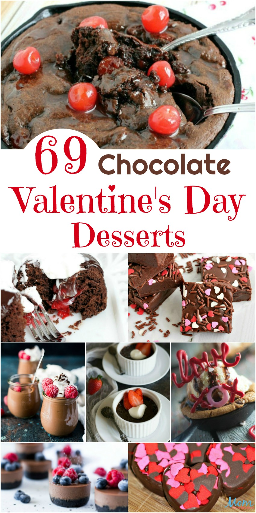 69 Chocolate Valentine's Day Desserts to Sweeten Your Day #Sweet2019  #food #foodie #desserts #chocolate #valentinesday