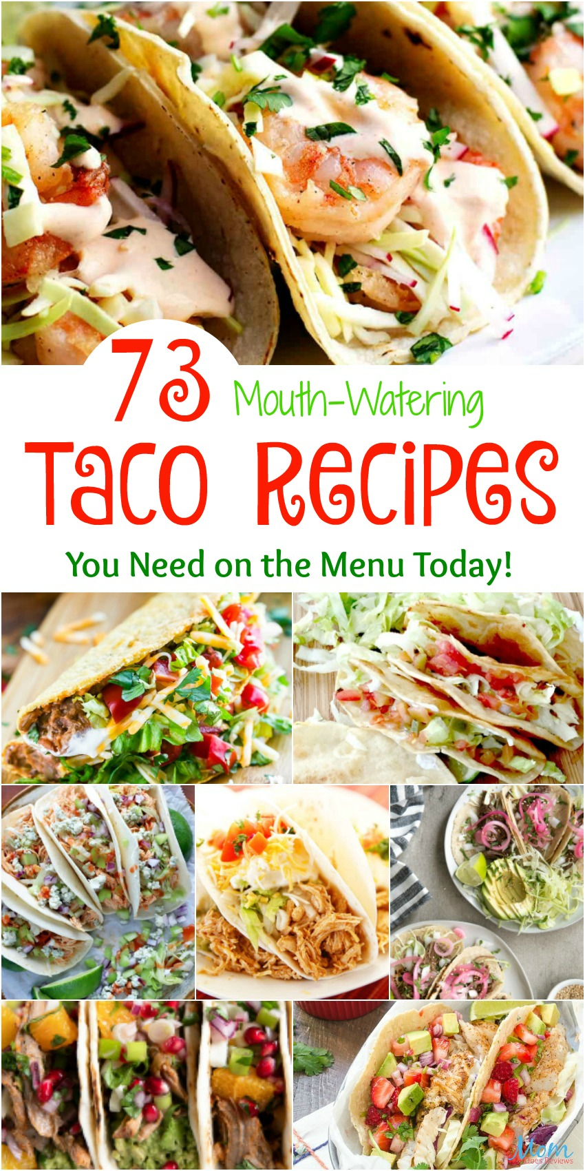 73 Mouth-Watering Taco Recipes You Need on the Menu Today #recipes #taco #tacotuesday #funfood #getinmybelly
