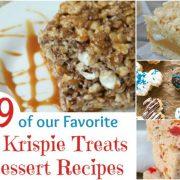 89 de nos recettes préférées de biscuits au riz et de desserts
