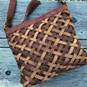 Aaralyn Crossbody Basket-Woven Leather Bag- Beautiful and Functional ! #MDRSummerFun #kindandtruealways