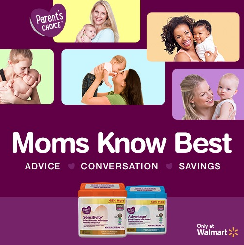 Parent's Choice Formula #MomsKnowBestWM