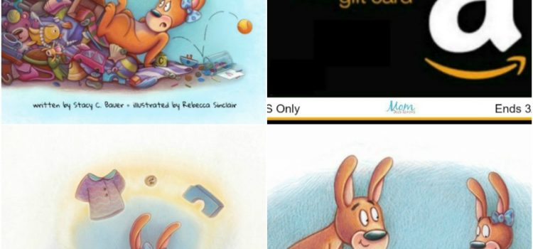 Cami Kangourou a trop de choses ! #Kickstarter – #Gagnez 50$ Amazon GC ! US 3/7 #CamiKangaroo