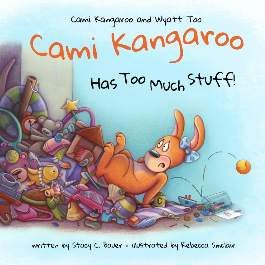 Cami Kangaroo Has Too Much Stuff! #Kickstarter