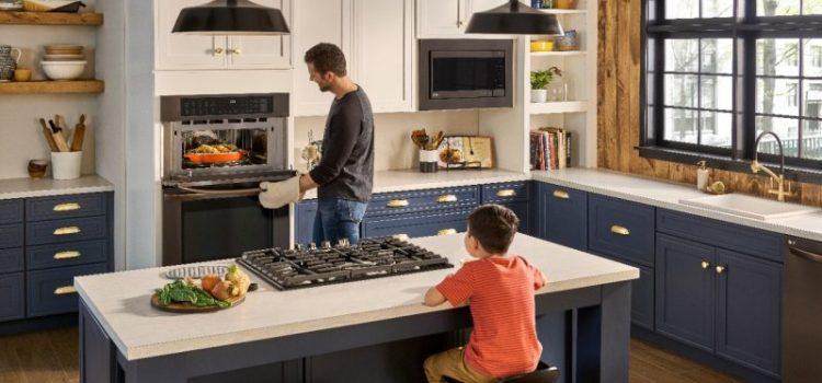 Améliorez votre cuisine et votre cuisine avec le four double mural combiné LG de #BestBuy