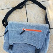 Easy Breezy Messenger Bag Donates to Nothing But Nets #Review