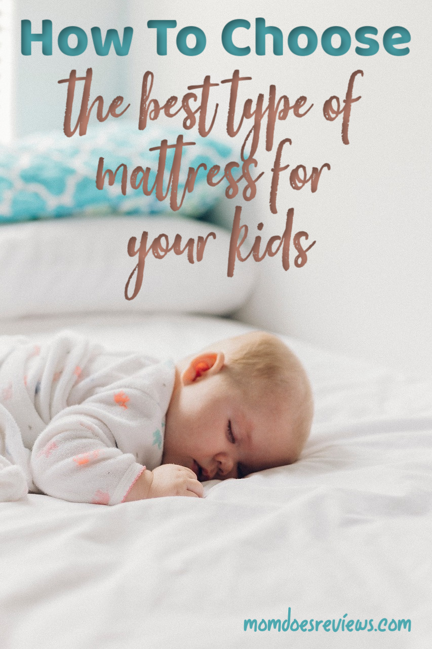 Guidelines To Choose The Best Type of Mattress For Your Kids #sleep #homeandliving #mattress