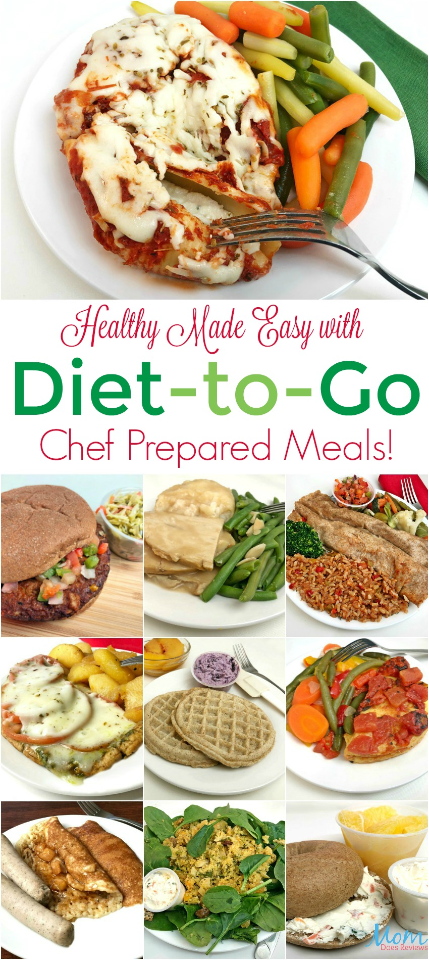 Healthy Made Easy with Diet-to-Go Chef Prepared Meals!