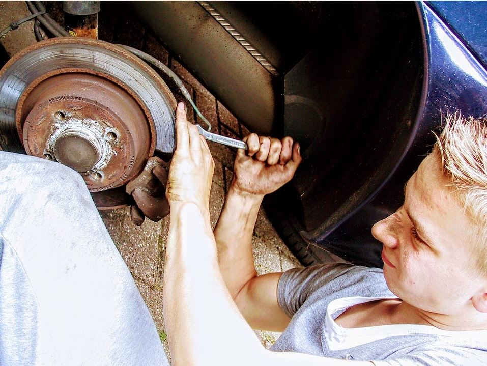 How to Help Dad Repair the Car with Teamwork and Determination