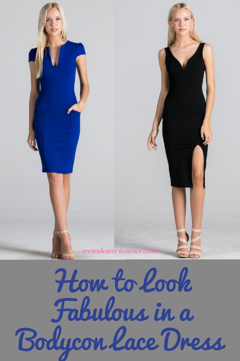 Look Fabulous in a Bodycon Lace Dress- Even If You Do Not Have a Flat Stomach