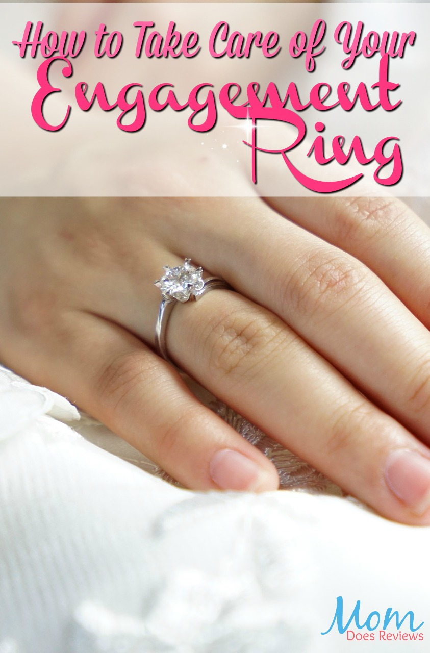 How to Take Care of Your Engagement Ring #jewelry #wedding #engagement #fashion