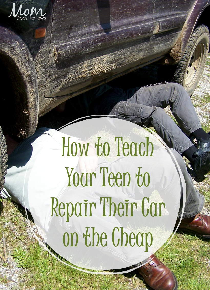 How to Teach Your Teen to Repair Their Car on the Cheap