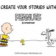 Téléchargez l'application Zoobe Peanuts StoryGIF dès aujourd'hui !