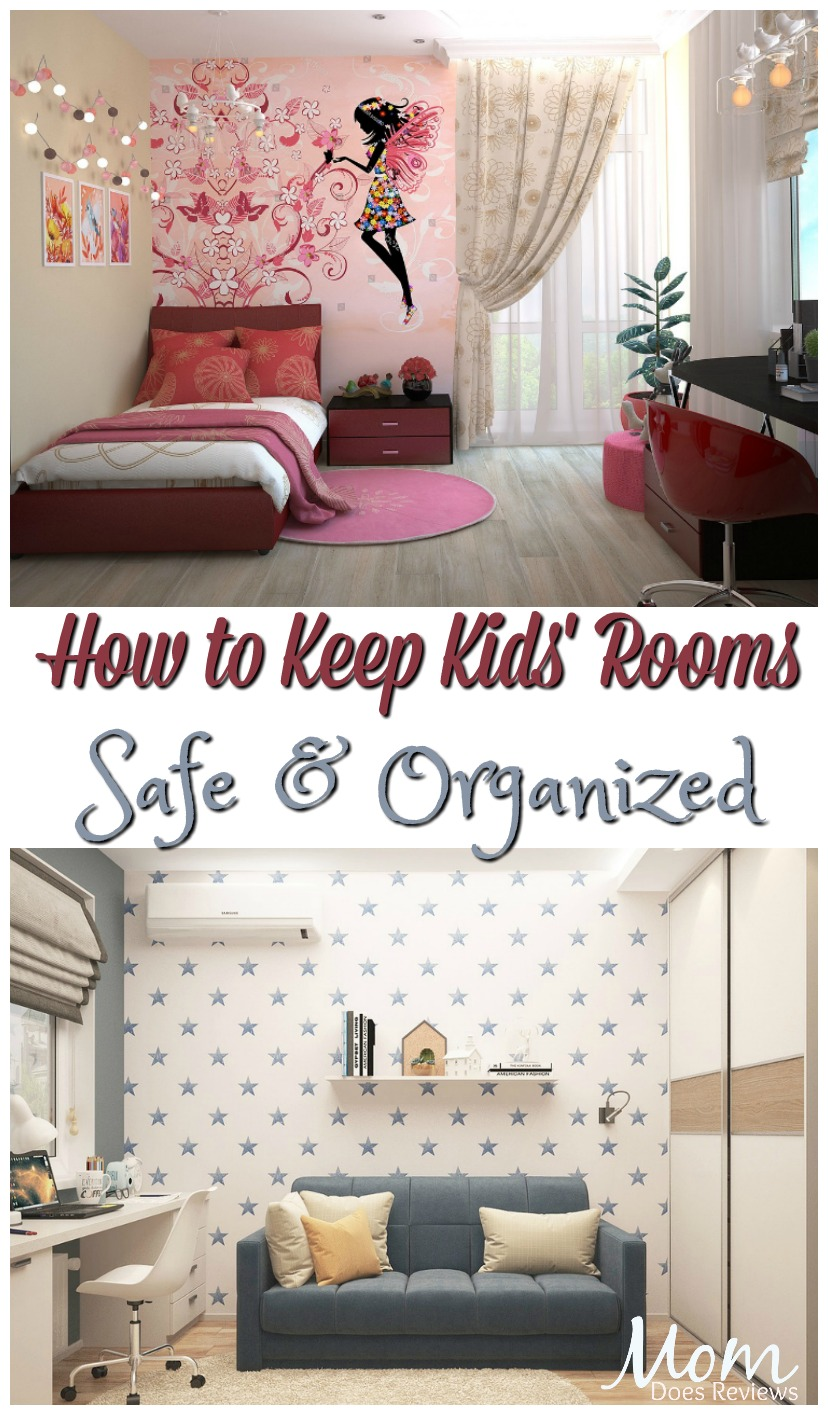 Keep Kids' Bedrooms Healthy, Safe & Organized