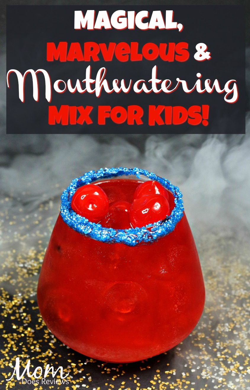 Make this Magical, Marvelous & Mouthwatering Mix for Kids! #CaptainMarvel