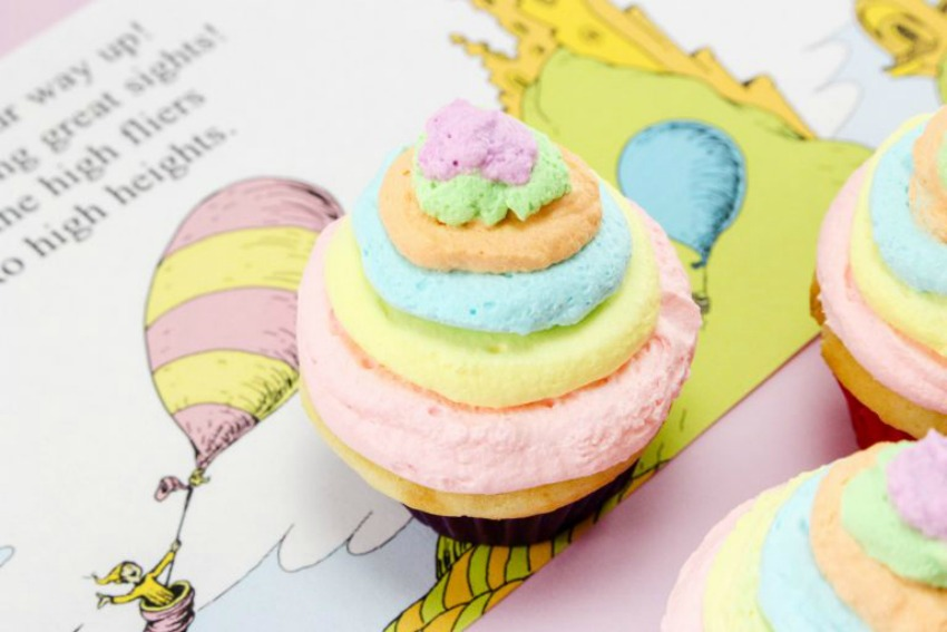 Oh the Places You'll Go Cupcakes Recipe