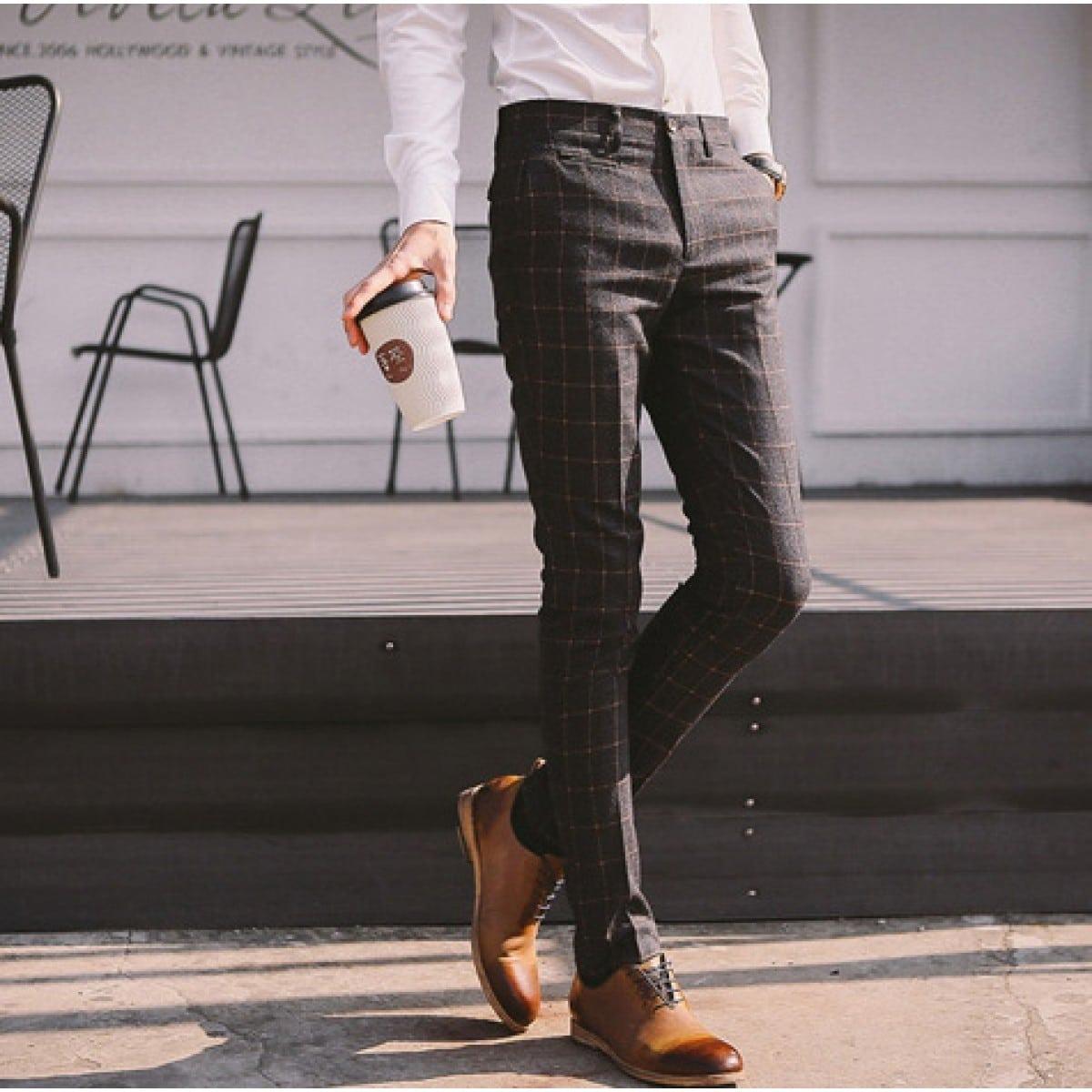 Pantalon, le meilleur vêtement d'hiver classe pour un homme