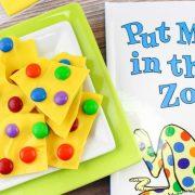 """Recette d'écorce""""Mets-moi au zoo"""" – Parfaite pour la journée du Dr Seuss !"""