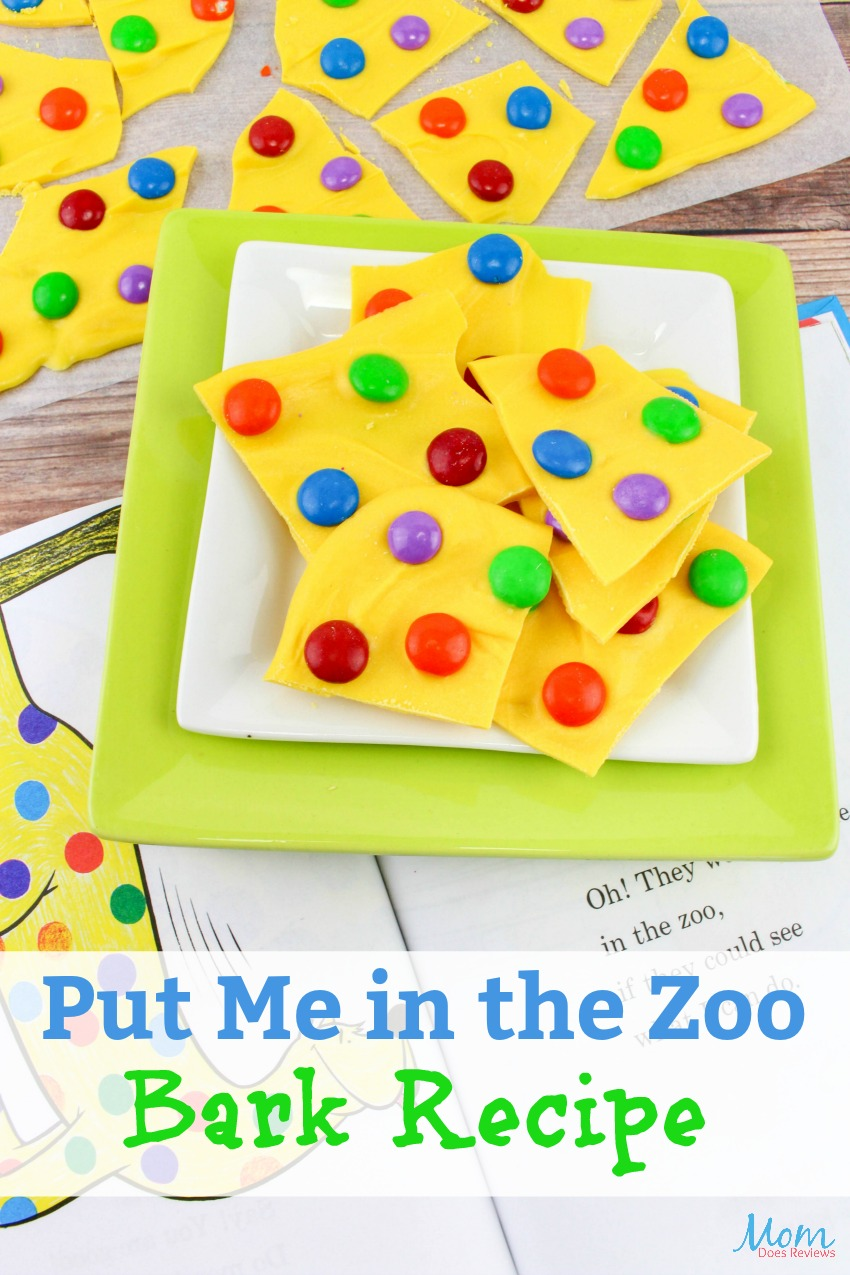 Put me in the Zoo Bark Recipe Perfect for Dr. Seuss Day! #Sweettreats #drseuss #bark #recipe #funfood #dessert