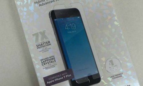 ZAGG Sapphire iPhone 7 Plus Phone Screen Cover pour protéger votre investissement #ChristmasMDR16