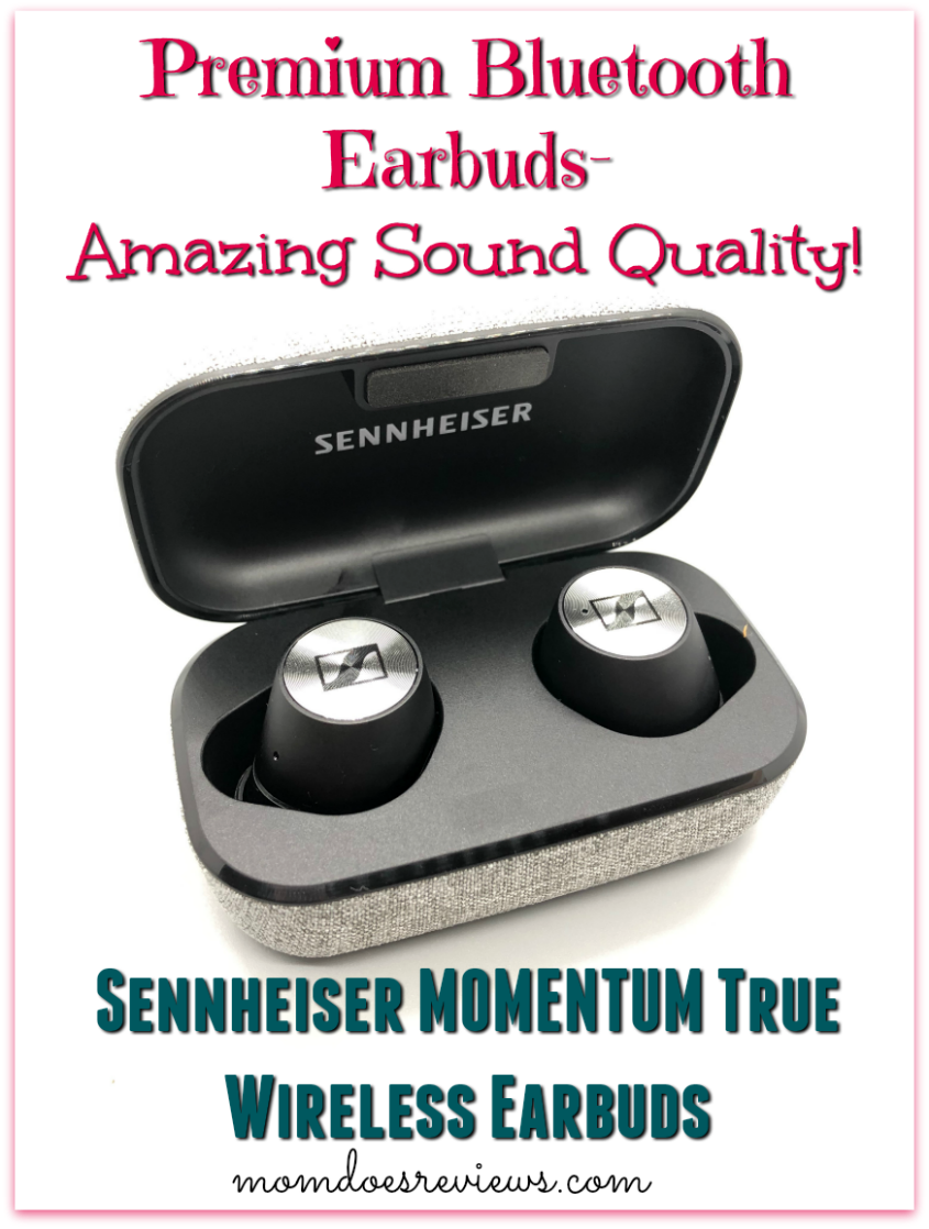 Sennheiser MOMENTUM True Wireless Earbuds #bestbuy #sweet2019 #review #earbuds #audio #technology