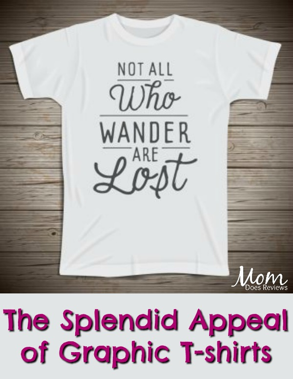 The Splendid Appeal of Graphic T-shirts #tshirts #fashion #clothes