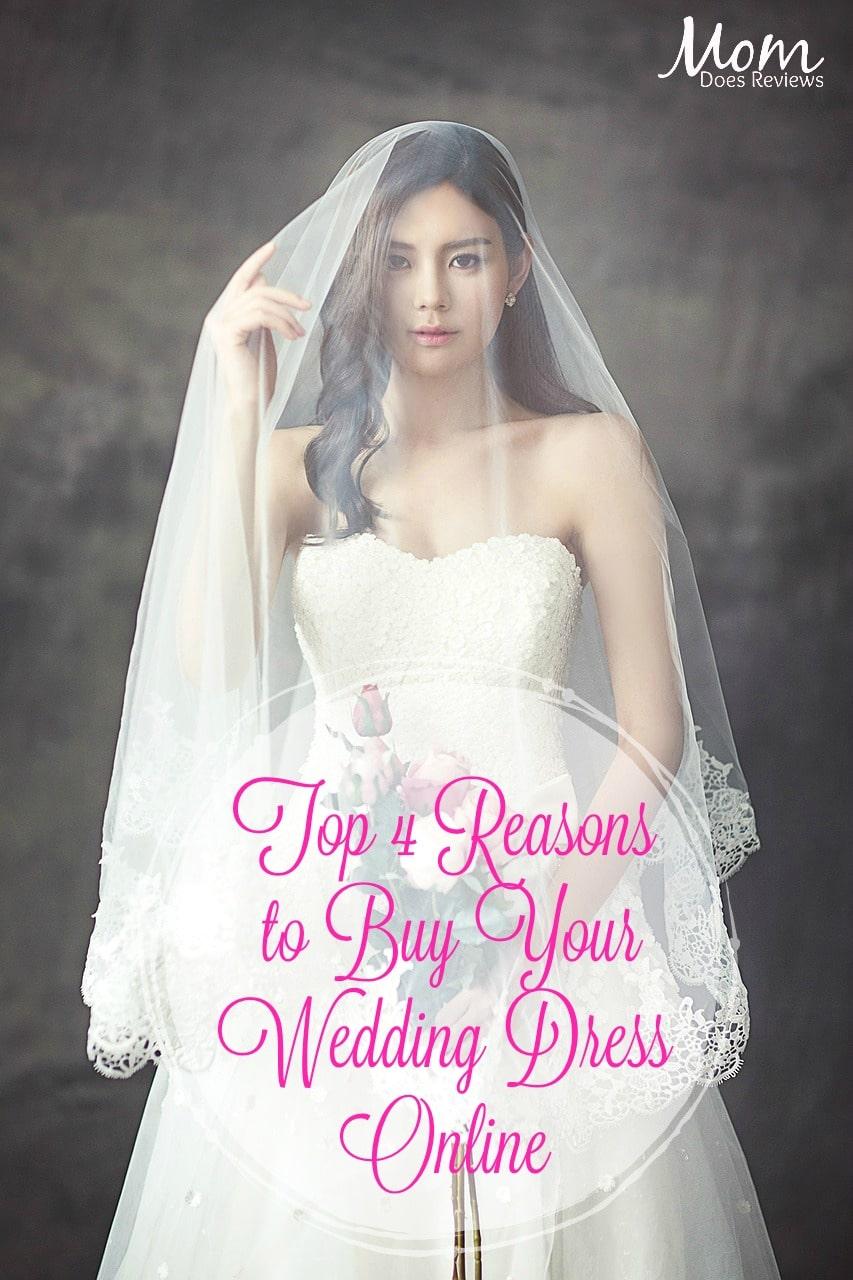 Top Four Reasons Why You Should Buy Your Wedding Dress Online #wedding #fashion #weddingdress