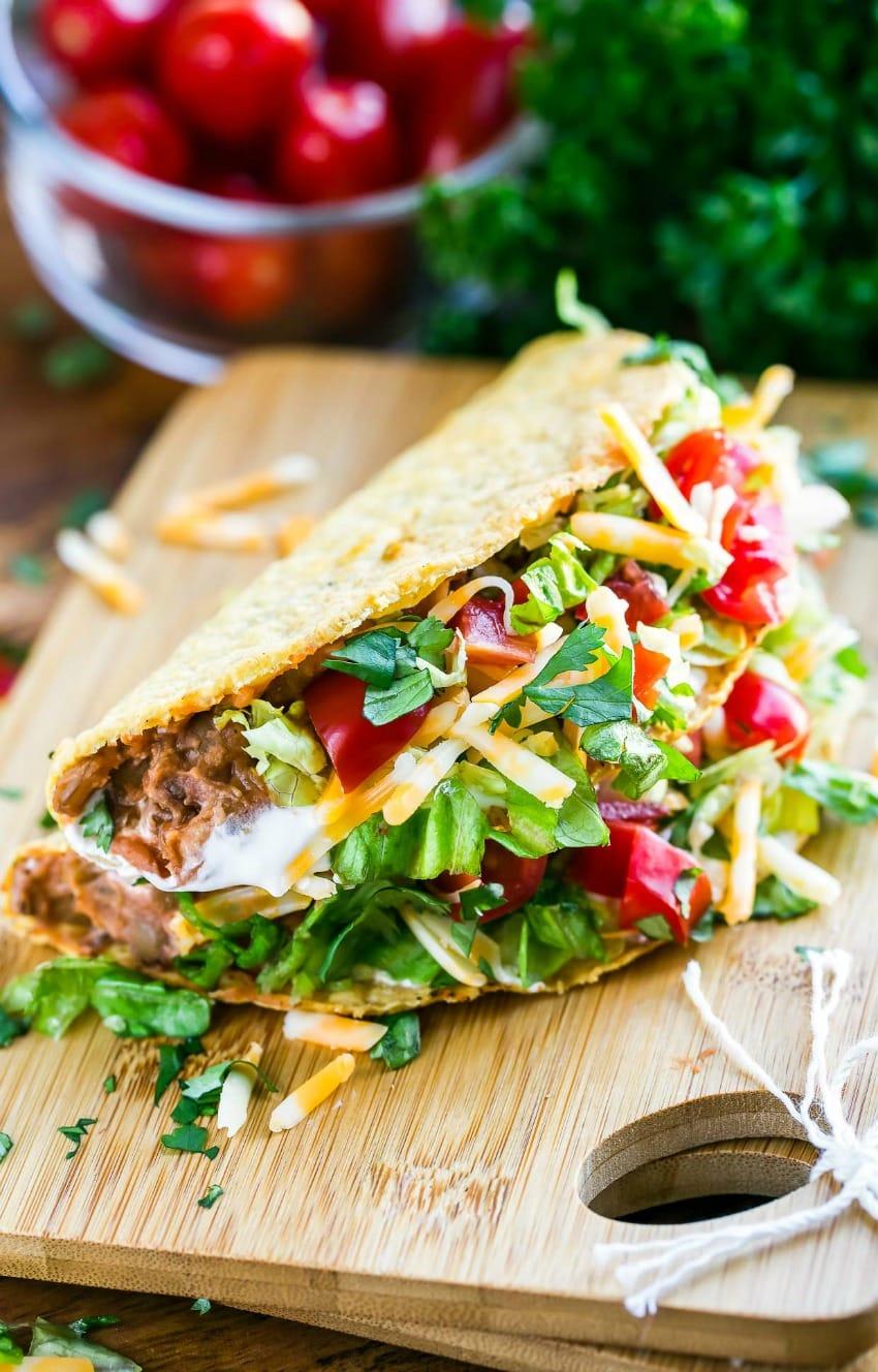 Vegetarian Lentil Tacos