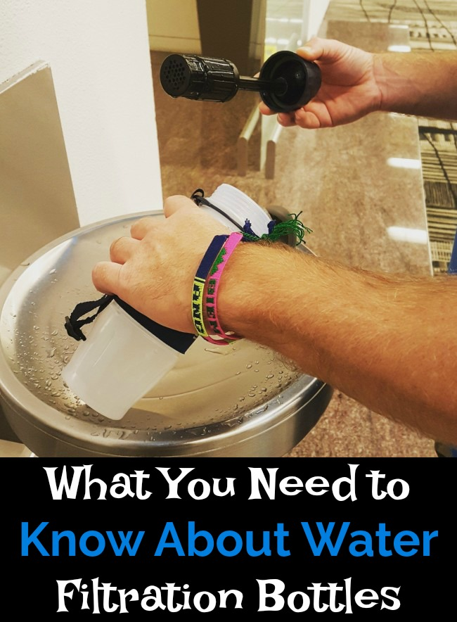 What You Need to Know About Water Filtration Bottles