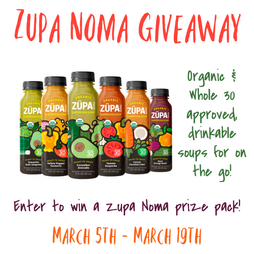 Zupa Noma Giveaway