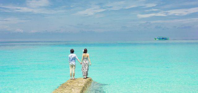 Vacances romantiques en lune de miel