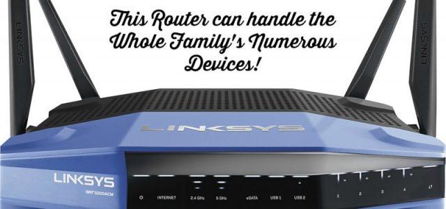 Linksys WRT3200ACM routeur Wi-Fi WRT3200ACM routeur le plus rapide autour ! #BestBuy  @linksys #ad