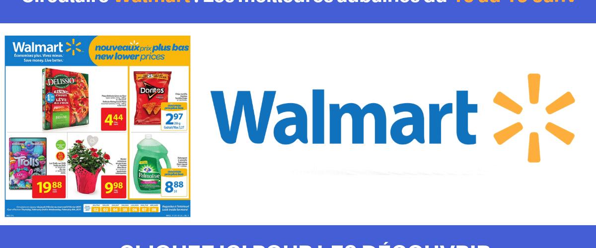 Les 10 meilleures aubaines Walmart disponibles actuellement