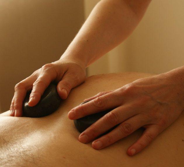 Un bon massage pour être en forme