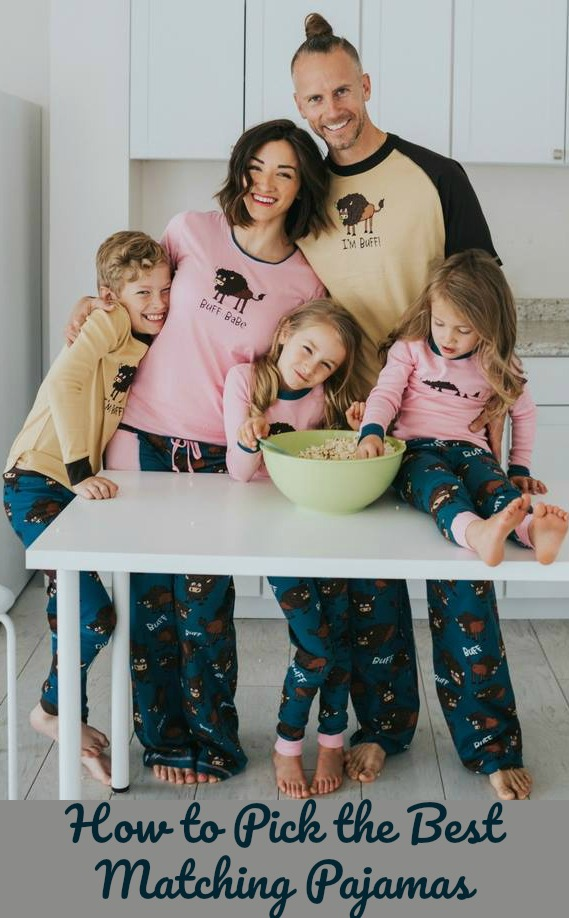 Pick the Best Matching Pajamas for Mom and Baby